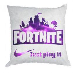 Подушка Fortnite just play it