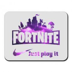 Килимок для миші Fortnite just play it