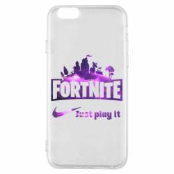 Чохол для iPhone 6/6S Fortnite just play it