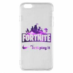 Чохол для iPhone 6 Plus/6S Plus Fortnite just play it