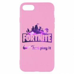 Чохол для iPhone 7 Fortnite just play it