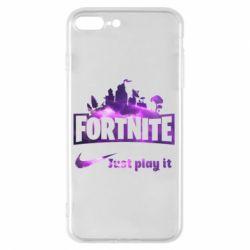 Чохол для iPhone 8 Plus Fortnite just play it