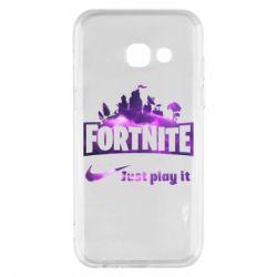 Чохол для Samsung A3 2017 Fortnite just play it