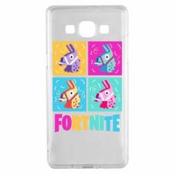 Чохол для Samsung A5 2015 Fortnite Llamas