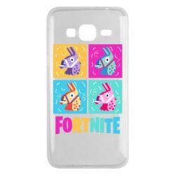 Чохол для Samsung J3 2016 Fortnite Llamas
