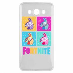Чохол для Samsung J7 2016 Fortnite Llamas