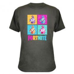 Камуфляжна футболка Fortnite Llamas