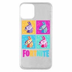 Чехол для iPhone 11 Fortnite Llamas