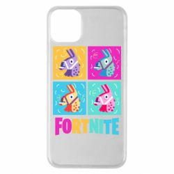 Чехол для iPhone 11 Pro Max Fortnite Llamas