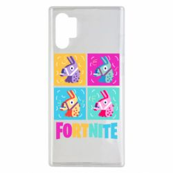 Чехол для Samsung Note 10 Plus Fortnite Llamas
