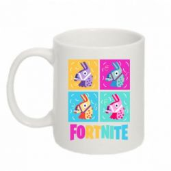 Кружка 320ml Fortnite Llamas