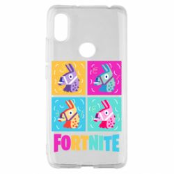 Чехол для Xiaomi Redmi S2 Fortnite Llamas