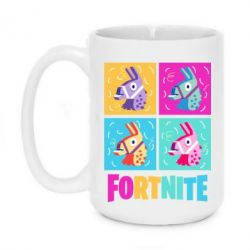 Кружка 420ml Fortnite Llamas