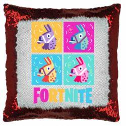 Подушка-хамелеон Fortnite Llamas