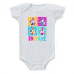 Дитячий бодік Fortnite Llamas