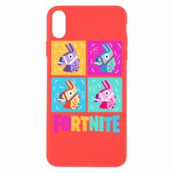 Чехол для iPhone X/Xs Fortnite Llamas