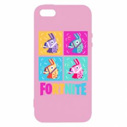 Чехол для iPhone5/5S/SE Fortnite Llamas