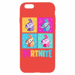Чехол для iPhone 6/6S Fortnite Llamas