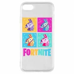 Чехол для iPhone 7 Fortnite Llamas