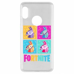 Чехол для Xiaomi Redmi Note 5 Fortnite Llamas
