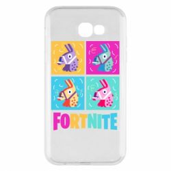 Чохол для Samsung A7 2017 Fortnite Llamas