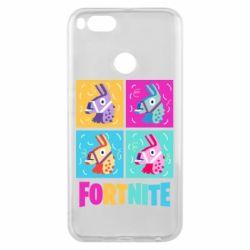 Чохол для Xiaomi Mi A1 Fortnite Llamas