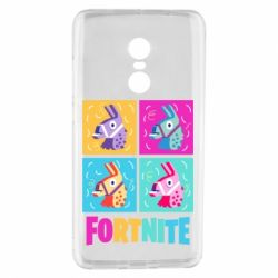 Чехол для Xiaomi Redmi Note 4 Fortnite Llamas