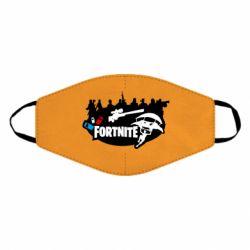 Маска для лица Fortnite logo and heroes