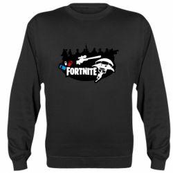 Реглан (світшот) Fortnite logo and heroes