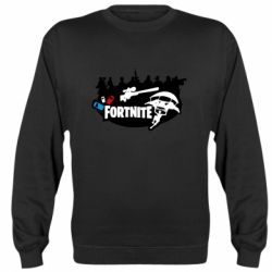 Реглан (свитшот) Fortnite logo and heroes