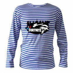 Тельняшка с длинным рукавом Fortnite logo and heroes
