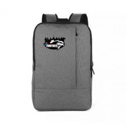 Рюкзак для ноутбука Fortnite logo and heroes