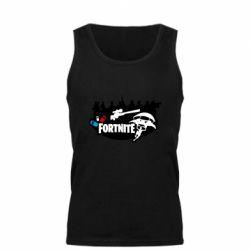 Майка чоловіча Fortnite logo and heroes