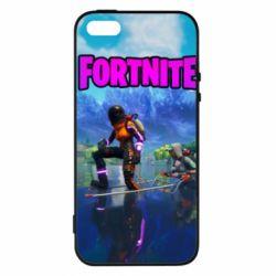 Купить Masha, Чехол для iPhone5/5S/SE Fortnite logo and heros, FatLine