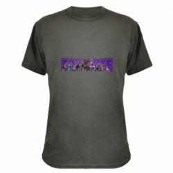Камуфляжна футболка Fortnite logo and image