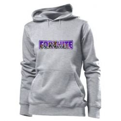 Толстовка жіноча Fortnite logo and image
