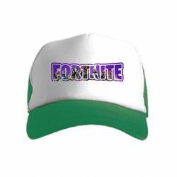 Дитяча кепка-тракер Fortnite logo and image
