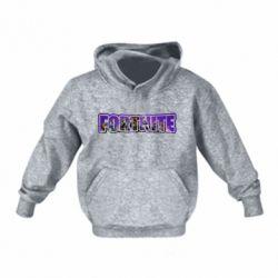 Дитяча толстовка на флісі Fortnite logo and image