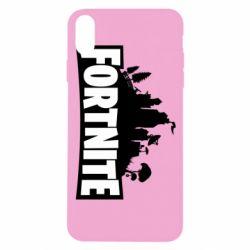 Чохол для iPhone X/Xs Fortnite logo