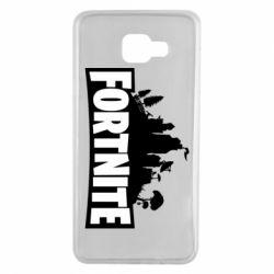 Чохол для Samsung A7 2016 Fortnite logo