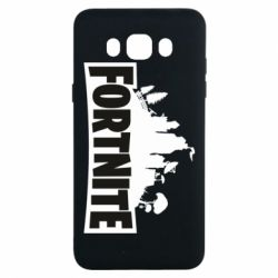 Чохол для Samsung J7 2016 Fortnite logo