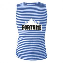 Майка-тільняшка Fortnite logo