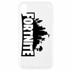 Чохол для iPhone XR Fortnite logo