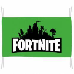 Прапор Fortnite logo