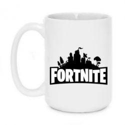 Кружка 420ml Fortnite logo