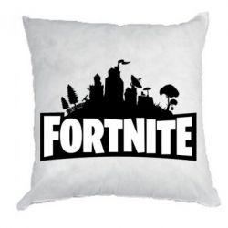 Подушка Fortnite logo