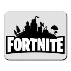 Килимок для миші Fortnite logo
