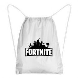 Рюкзак-мішок Fortnite logo