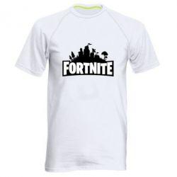 Чоловіча спортивна футболка Fortnite logo