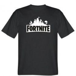Чоловіча футболка Fortnite logo